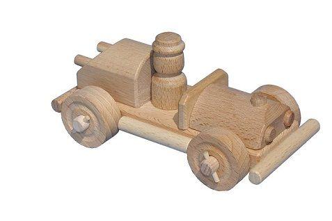 CEEDA CAVITY Dřevěné auto s řidičem