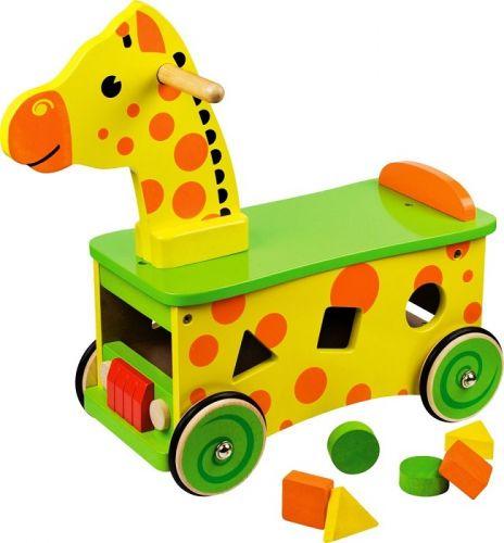 Boikido dřevěné odrážedlo Žirafka cena od 1499 Kč