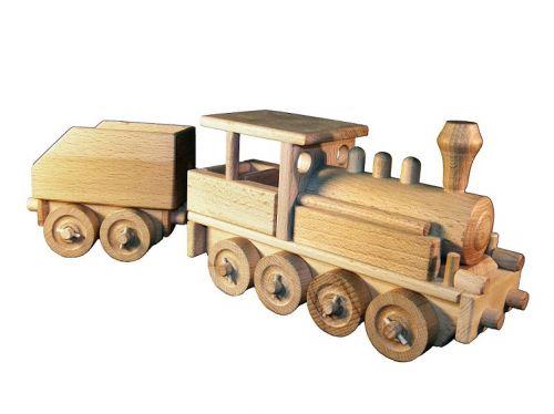 CEEDA CAVITY parní lokomotiva dřevěná