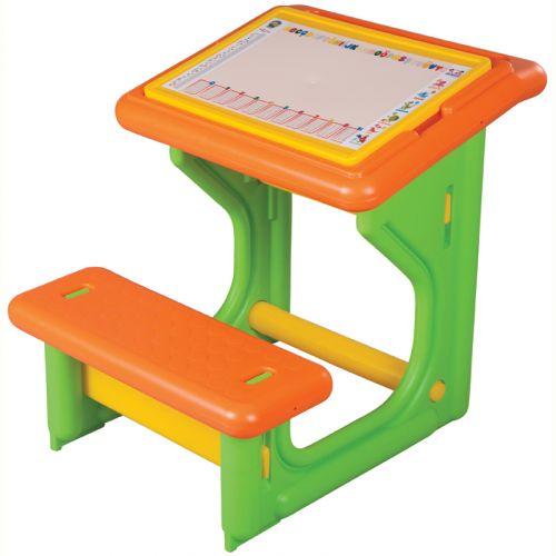 TRIGANO Dětský pracovní stolek s lavicí cena od 0 Kč