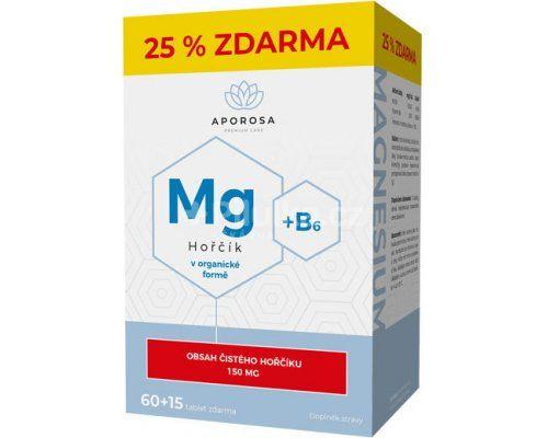APOROSA Hořčík 150 mg + B6 75 tablet