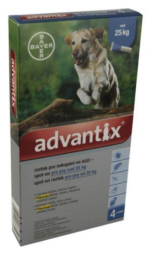 Bayer Advantix pro psy nad 25 kg