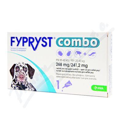 KRKA FYPRYST combo 1x 2,68 spot-on pro psy 20-40 kg