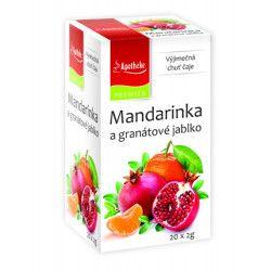 Apotheke Mandarinka a granátové jablko nálevové sáčky 20x 2 g cena od 45 Kč