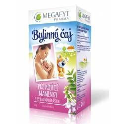 Megafyt Bylinný čaj pro kojící matky s jestřabinou lékařskou porcovaný čaj 20 x 1,5 g cena od 43 Kč