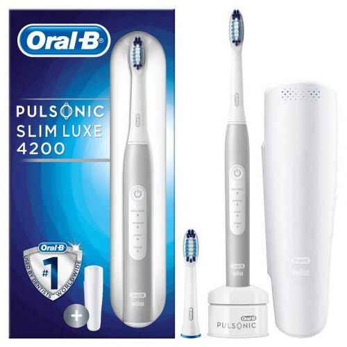 Oral-B Pulsonic SLIM LUXE 4200 cena od 2489 Kč