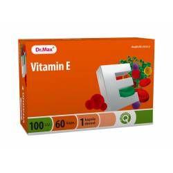 Dr.Max Vitamin E 100 I.U. 60 tobolek