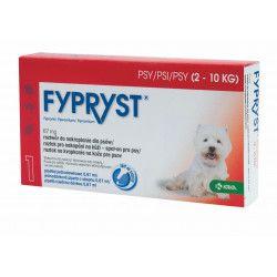 Krka Fypryst Spot-on S pes 2-10 kg 1 pipeta