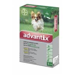 Advantix pro psy do 4 kg spot-on 1 x 0,4 ml