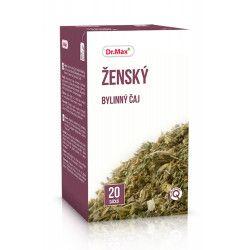 Dr.Max Ženský bylinný čaj 20 x 1,5 g cena od 49 Kč