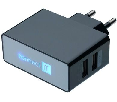Connect IT Nabíječka 2.1 A/1 A