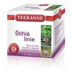 Teekanne Štíhlá linie bylinný čaj porcovaný 10 x 2 g