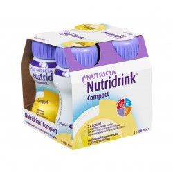 Nutridrink Compact vanilka 4x125 ml