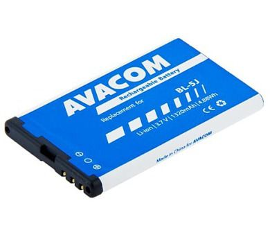 Avacom pro Nokia 5230, 5800, X6 1320 mAh