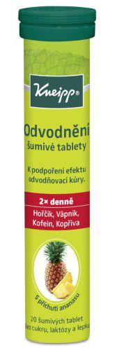 KNEIPP Odvodnění šumivé tablety 20 tablet