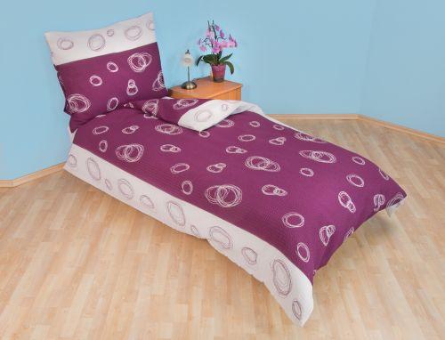 Brotex Espiral fialový bavlněný povlak cena od 119 Kč
