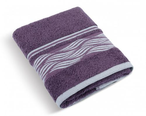 Brotex burgundy Froté ručník