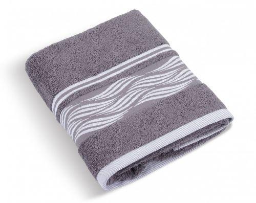 Brotex vlnka šedý Froté ručník