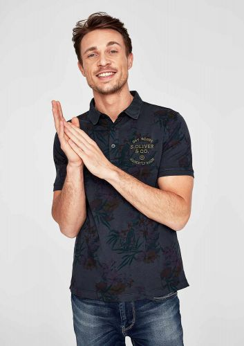 s.Oliver pánské triko s límečkem