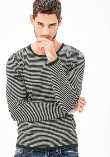 s.Oliver proužkovaný svetr