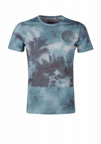 s.Oliver batikované triko