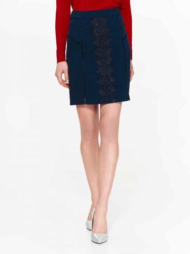 Top Secret elegantní sukně s krajkou