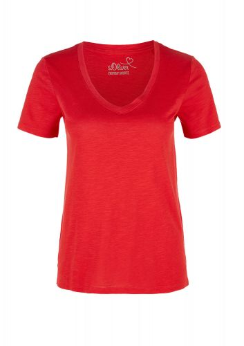 s.Oliver triko z žíhané příze