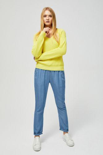 Moodo svetr s odhalenými zády