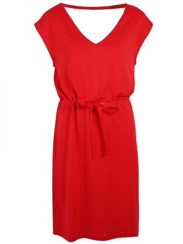 Top Secret šaty s vázačkou odhalená záda