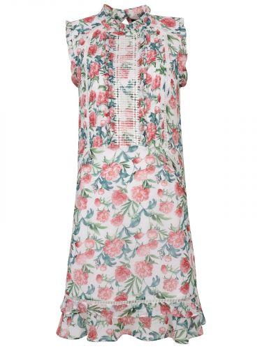 Top Secret romantické šaty s květinovým vzorem