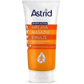 ASTRID Sports Action Hřejivá masážní emulze 200 ml
