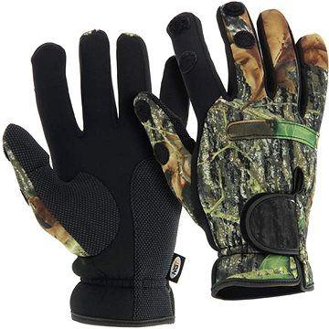 NGT Camo Gloves L