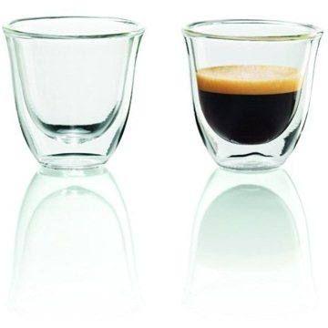 De'Longhi Sada sklenic 2ks Espresso skleničky cena od 149 Kč