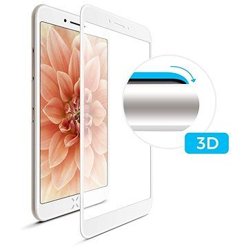 FIXED 3D Full-Cover pro Apple iPhone 7 Plus/8 Plus bílé