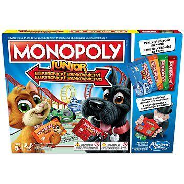 Hasbro Monopoly Junior Electronic Banking CZ cena od 549 Kč