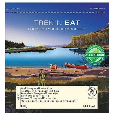 Trek n eat Trek'n eat Výběrová hovězí směs Stroganoff s rýží