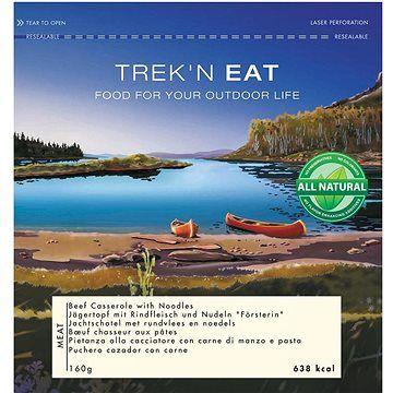 Trek n eat Trek'n eat Těstoviny s vybraným hovězím na voňavém koření na lovecký způsob