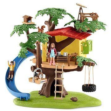 Schleich 42408 Dům na dobrodružném stromě cena od 1348 Kč
