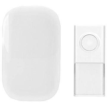 Solight bezdrátový zvonek, do zásuvky, 150m, bílý, learning code (1L43)