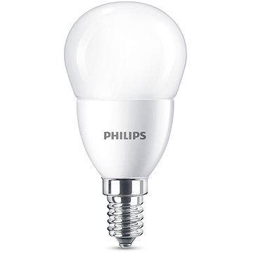 Philips LED kapka 7-60W, E14, Matná, 2700K