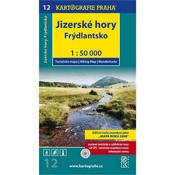 Kartografie PRAHA Jizerské hory, Frýdlantsko 1:50 000: turistická mapa cena od 80 Kč