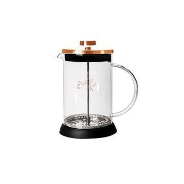 BerlingerHaus Konvička na čaj a kávu French Press 600 ml Rosegold Metallic Line
