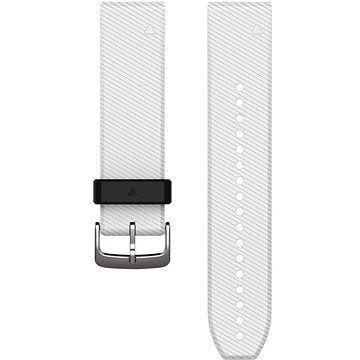 Garmin QuickFit 22 silikonový bílý