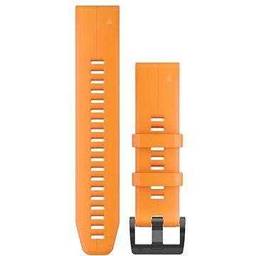 Garmin QuickFit 22 silikonový oranžový