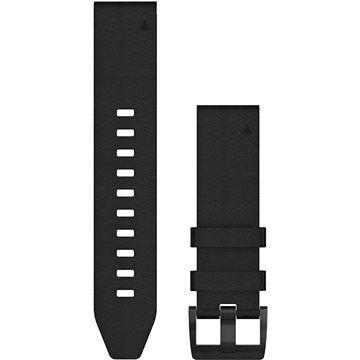Garmin QuickFit 22 kožený černý