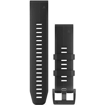 Garmin QuickFit 22 silikonový černý