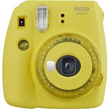 Fujifilm Instax Mini 9 žlutý cena od 1490 Kč