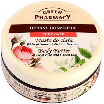 GREEN PHARMACY Tělové máslo Muškátová růže a Zelený čaj 200 ml