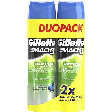 GILLETTE Mach3 Gel Sensitive 2 × 200 ml