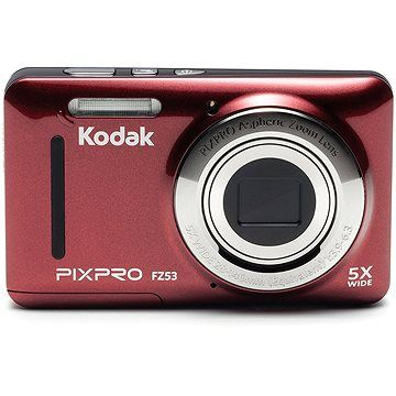 Kodak FriendlyZoom FZ53 červený